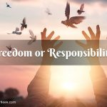 Travelling in this scenario: what should be opted, freedom or Responsibility?