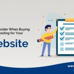 List to Consider When Buying VPS Hosting for Your Website