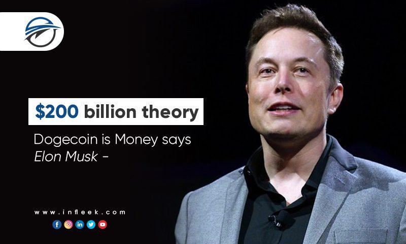 $200 billion theory, Dogecoin is Money says Elon Musk