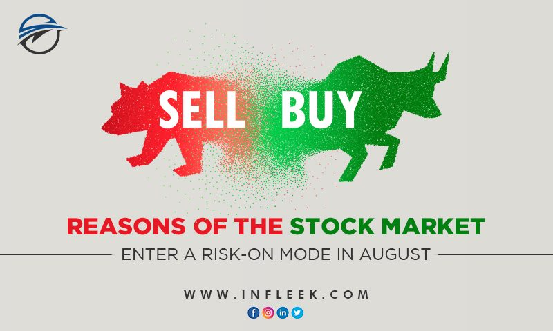 3 reasons of the stock market enter a risk-on mode in August