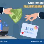 5 Best Websites To Buy Real Instagram Follower