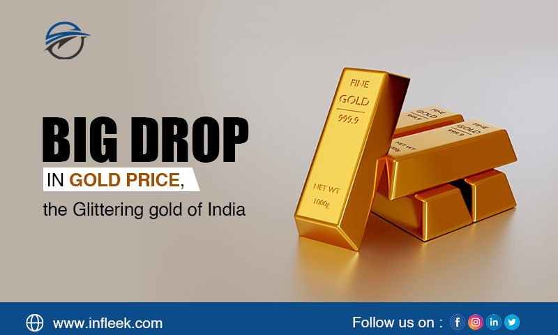 Big drop in Gold price, the Glittering gold of India
