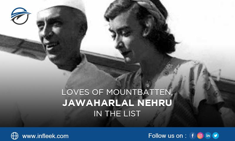 Loves of Mountbatten, Jawaharlal Nehru in the list