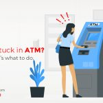 card stick in ATM? Here's what to do