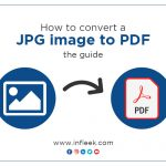 How to convert a JPG image to PDF- the guide
