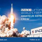 SpaceX liftoffs World's first amateur astronaut crew